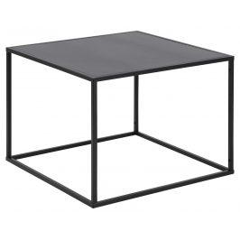 SCANDI Černý konferenční stolek Renna 60 cm