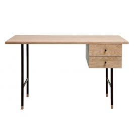 Přírodní dubový pracovní stůl Woodman Jugend II. 130x65 cm