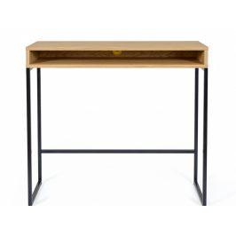 Přírodní pracovní stůl Woodman Frame I. 100x35 cm