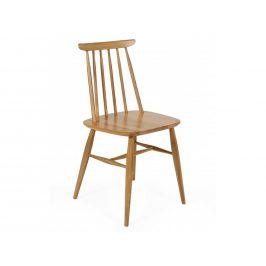 Přírodní masivní jídelní židle Woodman Aino