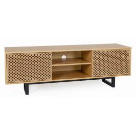 Vzorovaný masivní TV stolek Woodman Camden
