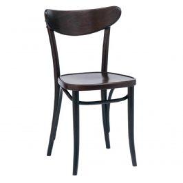 Černá jídelní židle Ton Ideal