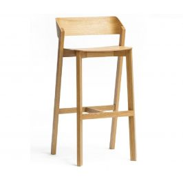 Dubová barová židle Ton Merano 99,4 cm