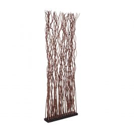 Hnědý vrbový paraván Bizzotto Senegal 175 cm