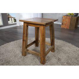 Moebel Living Masivní dřevěná stolička Jakr 45 cm