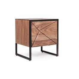 Masivní akátový noční stolek Bizzotto Egon