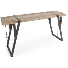 Dřevěný toaletní stolek Bizzotto Blocks 153 x 44 cm