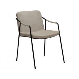 DAN-FORM Béžová čalouněná jídelní židle DanForm Boto