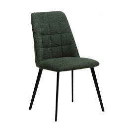 DAN-FORM Zelená čalouněná jídelní židle DanForm Embrace
