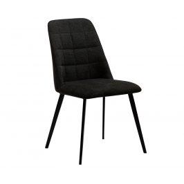 DAN-FORM Černá čalouněná jídelní židle DanForm Embrace