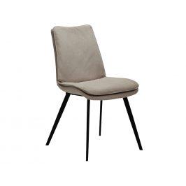 DAN-FORM Béžová čalouněná jídelní židle DanForm Fierce
