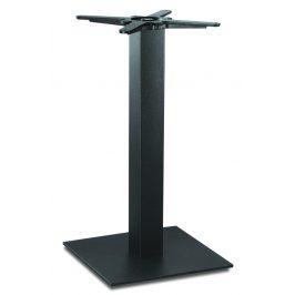 Garden Project Černá kovová stolová podnož HARD 40 x 40 cm