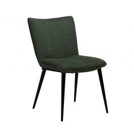 DAN-FORM Zelená čalouněná jídelní židle DanForm Join