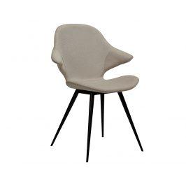 DAN-FORM Béžová čalouněná jídelní židle DanForm Karma