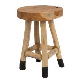 White Label Living Masivní teaková stolička WLL Harry