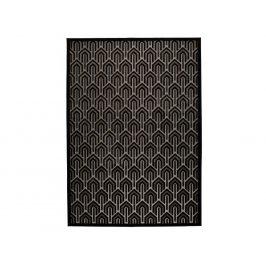 Černý koberec ZUIVER BEVERLY 170 x 240 cm