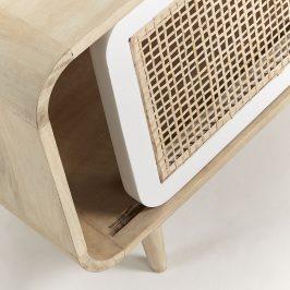 Masivní mangový TV stolek LaForma Gerald 120 x 40 cm
