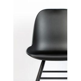 Černá jídelní židle ZUIVER ALBERT KUIP ALL BLACK