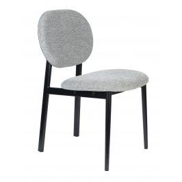 Šedá čalouněná židle ZUIVER SPIKE