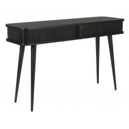 Černý dubový toaletní stolek ZUIVER BARBIER 120 x 35 cm