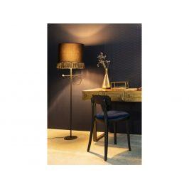 Zlatý dřevěný toaletní stolek DUTCHBONE VOLAN 140 x 50 cm