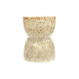 Hoorns Krémová keramická stolička Demi 43 cm Židle do kuchyně