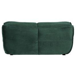 Hoorns Tmavě zelená sametová podnožka Robbie