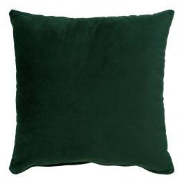 Nordic Living Tmavě zelený sametový polštář Limo 40 x 40 cm Polštáře