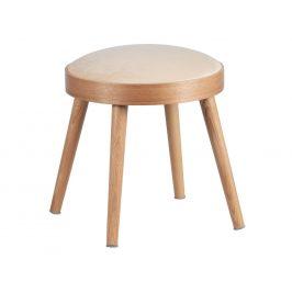 Hoorns Béžová sametová stolička Lanie