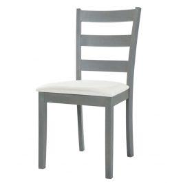 Jídelní čalouněná židle v šedé patinové barvě KN1228