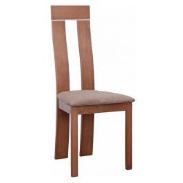 Dřevěná židle v luxusním třešňovém provedení světle hnědá DESI Židle do kuchyně