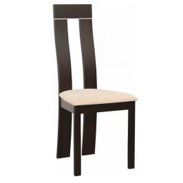 Dřevěná židle v luxusním provedení wenge DESI