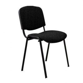 Konferenční židle v jednoduchém moderním provedení černá ISO NEW