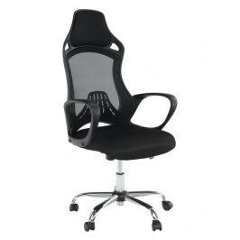 Kancelářská židle v černém provedení TK092