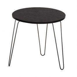 Příruční stolek 48x48cm v dekoru černý dub TK2130