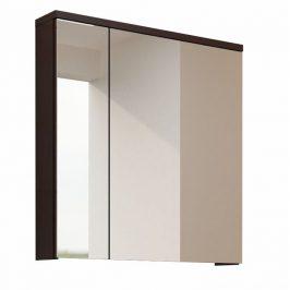 Skříňka koupelnová se zrcadlem wenge WE14 TK3067