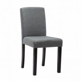 Jídelní židle, šedá / černá, SELUNA