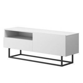 RTV stolek bez podstavy, bílá, Spring ERTVSZ120 Stolky pod TV