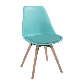Židle, mentolová / buk, Semer NEW