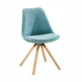 Židle, mentolová/buk, SABRA
