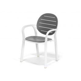 Plastová židle DT076 šedá