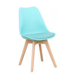 Židle, mentolová / buk, BALI 2 NEW