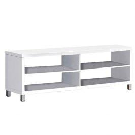 TV stolek v moderním bílém provedení Tofi NEW TV STOLEK Stolky pod TV