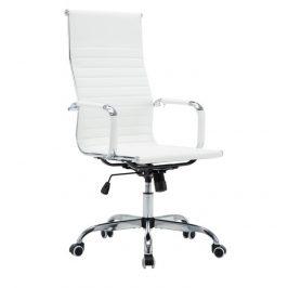 Kancelářské křeslo v barvě bílé TK4004