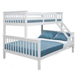 Patrová rozložitelná dětská postel s roštem TK4023