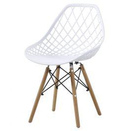Jídelní židle AQUILA bílá