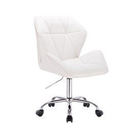 Kancelářské křeslo, bílá, TWIST