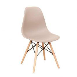 Židle, teplá šedá / buk, CINKLA 3 NEW