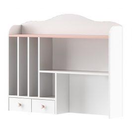 Nádstavec v kombinaci barev bílé a růžové typ MI04 KN365