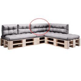Polštář na paletové sezení, šedá, ANIKA TYP 2